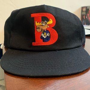 Vintage Bullwinkle Embroidered Snapback Hat